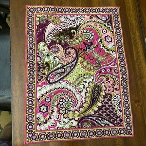 Vera Bradley quilted placemat